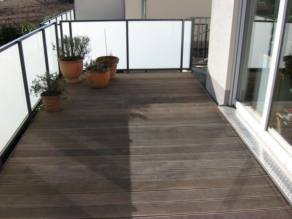 Balkonbelag aus Holz
