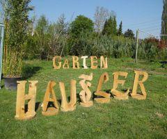 Dekomaterial aus Holz wird immer beliebter im Garten