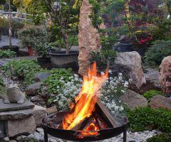 Feuer als Element wird immer beliebter im Garten
