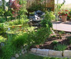Relaxzone Gartenteich