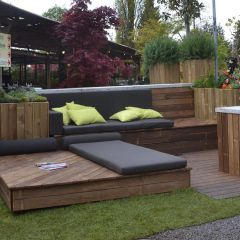 Outdoor Lounge Holz
