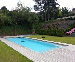 Schwimmbad mit großzügiger Liegefläche