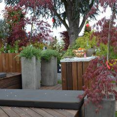 Gartenlounge Wellness im Garten