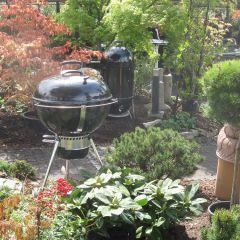 Grillen im Garten