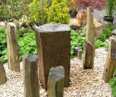Säulenarrangement für Brunnen