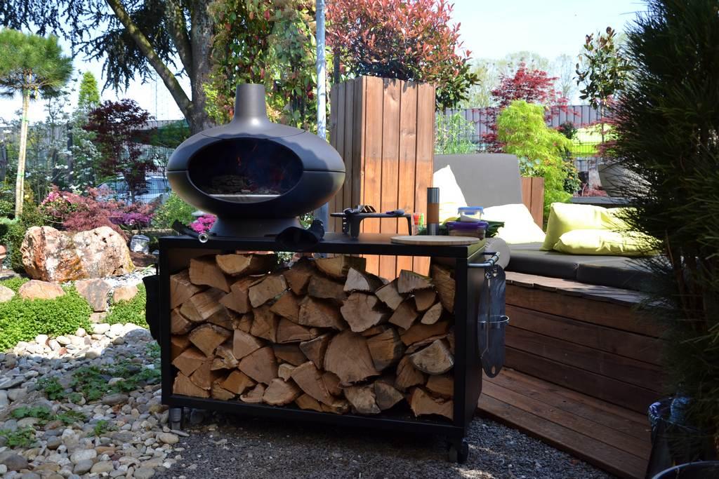 Gesundes Grillen, Backen und Räuchern mit dem Gartengrill Morso Forno